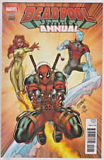DEADPOOL ANNUAL#1 NM 2016 MARVEL COMICS