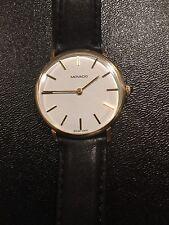 Vintage Zenith Movado 14k Yellow Gold Swiss 17Jewel Swiss Manual Wind Mens Watch