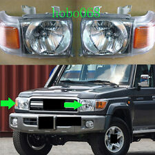 2x For Toyota Land Cruiser LC70 LC76 LC79 LC71 2007-15 Car Front Headlight LH&RH