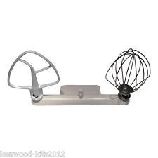 Kitchenaid Artisan Wire Whisk K45WW, Flat Beater K45B & A Mixermaid Tool Holder.