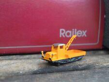 Railex 1560 Rottenkraftwagen Spur Z 1:220 gelb der DB Kleinserie für Märklin Z