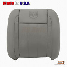 2008 2009 Dodge Ram Laramie 1500 2500 3500 4500 DRIVER Top Leather Cover In TAN