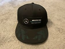 Mercedes AMG F1 Formula 1 Racing Team PUMA Cap Hat, NWT