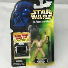 Vintage Star Wars Figure Power Force Lak Sivrak Wolf Man Freeze Frame POTF 1997