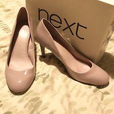 "6.5 NEXT shoes  Patent Light Lilac / Dusky Pink 3""  heel"