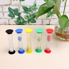 Mini Minute Hourglass for Shower Timer/Teeth Brushing Timer Cup Props Random