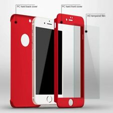 Phone Case For iPhone All Editions Full Cover Protection With Tempered Glass