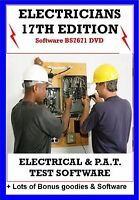 Electrical Test Certificates Software 17th Ed Pat Test 3rd Amended +bonus guides