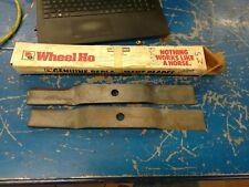 Toro Wheel Horse NOS Mower Blade Set 109078