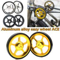 2pcs 7075 Aluminium Alloy Wheel Modification Kits Easy Wheel for Brompton