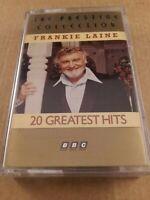 Frankie Laine : 20 Greatest Hits : Cassette Tape Album From 1990