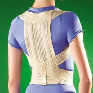 POSTURE CORRECTOR Brace STEEL STAYS AC Thoracic Spine OP 2275 Back Clavicle