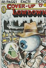 Cover Up Lowdown 1st Print (1977) Underground Comic FINE Free Shipping!