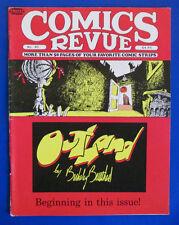 1989 COMICS REVIEW #40 VGN Outland Hagar The Horrible The Phantom Steve Canyon