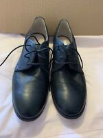 Black Lace Up Clarks Leather Shoe Brogue Style Size 9 43 BNWT