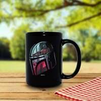 The Mandalorian Helmet Scene Fill Mug Coffee Mug Gift 11Oz Funny Cup Gift For...