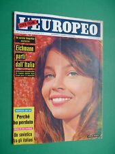 L'Europeo 1960 Leslie Caron Shirley Anne Field Jean-Paul Sofia Loren