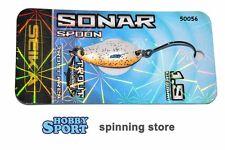 SONAR SPOON SEIKA TUBERTINI col 50056 BIANCO-ORANGE  gr 1,9  TROUT AREA SPINNING