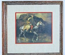 The Polish Rider Rembrandt Print Framed Matted
