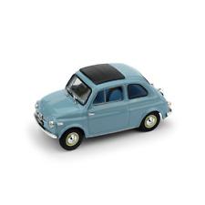 FIAT NUOVA 500 TETTO APRIBILE CHIUSA 1959 CELESTE 1:43 UPD Brumm Auto Stradali