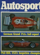 Autosport August 5th 1976 *German Grand Prix Lauda Crash*