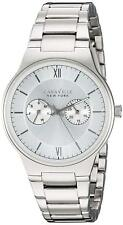 Caravelle New York 43A134 Gents Stainless Steel Multi Dial 3 Yr Guar RRP £99.00