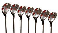 "Men's Majek Golf All Hybrid Full Set (4-PW) Senior ""A"" Flex Utility Clubs"