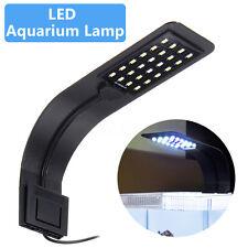 24 LED 10W Aquarium Lamp Fish Tank  Light 5730LED Lamp  Water Plant  Clip UK