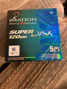 Imation Super Disk 120 MB - Pack of 4