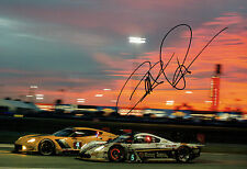 Scott PRUETT SIGNED 12x8 Photo AFTAL Autograph COA Corvette Daytona
