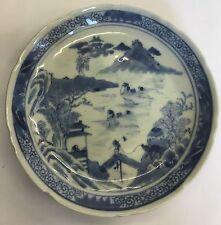 Antique Zangxi Period (1900-1910) Dish / Plate Mark Of Kangxi Nian Zhi 14.5cm