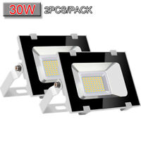 2x 30W LED Flood Light VIUGREUM Cool White Outdoor Spotlight Garden Yard Lamp