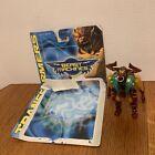 Transformers Beast Machines Longhorn Herioc Maximals Robot To Beast Figure 1999