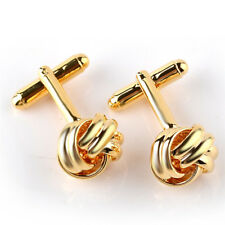 Wedding Business Cuff links Gift J_Wk Men's Suits Shirt Knot Twisted Cufflinks