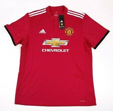 adidas Manchester United FC Home Jersey Men's XL Climacool Soccer BS1214