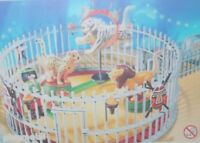 Playmobil -- Pièce de rechange -- Cirque cage au fauve 4233 --