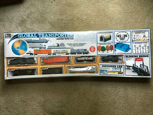 CSX GLOBAL TRANSPORTER ELECTRIC TRAIN SET HO Scale #8914 Sealed Box Not Used