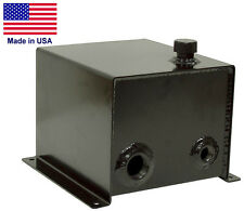 3 Gallon Hydraulic Reservoir Tank Unit - 4 Bolt Mount - Commercial Duty - USA