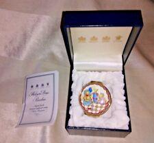 Halcyon Days Porcelain Trinket Box Teddy Bear Party Birthday? original box