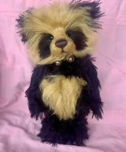 """Charlie Bears """"Anniversary Dion"""" Isabelle Lee Mohair w/tags & bag #95/200 Ltd Ed"""