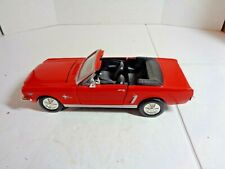 Motor Max 1/24 Scale 1964 Mustang Convertible  # 68012