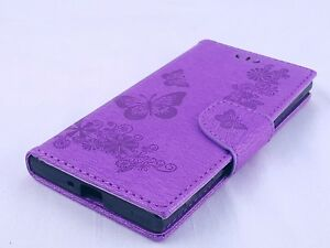 Sony Xperia XZ Wallet Protective Cases Card Slots Patten Pictorial