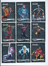 2015 Marvel Vibranium complete base set 1-90