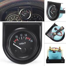 12V 52mm Voltmeter Voltage Voltanzeige Spannungsanzeige für Auto LED Light