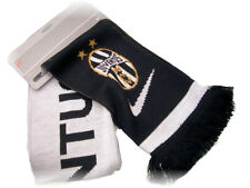 New NIKE Vintage JUVENTUS Football Club Scarf Soft Acrylic Black and White