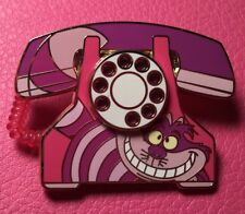 DISNEY PIN - Alice in Wonderland Villain CHESHIRE CAT Telephone WDW Marquee LE
