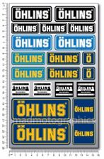 OHLINS shocks motorcycle decals pro quality stickers Laminated Ducati Kawasaki