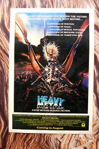 Heavy Metal Lobby Card Movie Poster #1