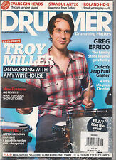 DRUMMER UK Issue 103 June 2012 Cover TROY MILLER Amy Winehouse + CYMBAL GUIDE SS