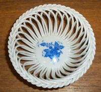 Small Open Weave Trinket Bowl - Herend Hungary